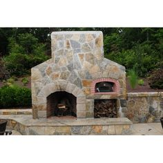Preferred Properties Lsc, inc Outdoor Fireplace w/ Pizza oven
