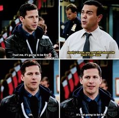 Goodbye, Brooklyn Nine-Nine. You were too pure and beautiful for this world.