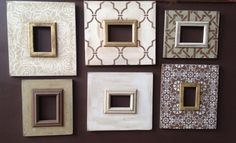 Bloom 5x7 Distressed Frame Relaxed Khaki on by deltagirlframes