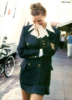 US Vogue February 1994 by Pamela Hanson