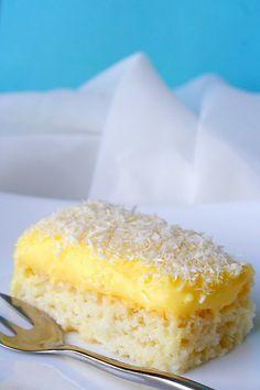 Raffaello slice - coconut vanilla dessert by -Mellie-, Easy to make too.