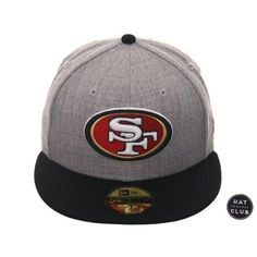 0d13bf7720b0b Exclusive New Era 59Fifty San Francisco 49ers Hat - 2T Heather Gray