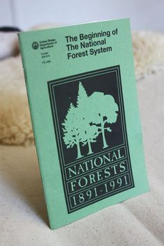 Vintage National Forests Book by owsupply on Etsy, $9.00 Forest Book, Lake Tahoe Vacation, National Forest, Forests, Handmade Gifts, Vintage, Etsy, Art, Kid Craft Gifts