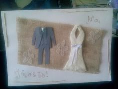 Ευχετήρια κάρτα γάμου!