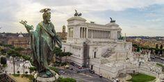 Piazza Venezia in Rome: History, Il Vittoriano, Basilica San Marco, Hotel, Venice and Bonaparte Palaces Famous Monuments, Hotel, Venice, Competition, Rome, Famous Landmarks