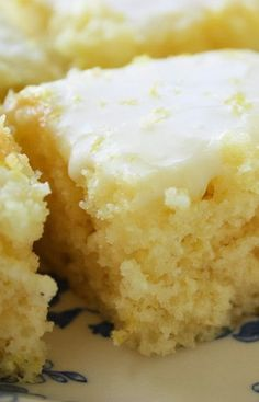 Easiest Lemon Brownies - It doesn't get much better than this! One bowl. No mixer. No butter. You'll need 3 small lemons and please note… zest the lemons before juicing – it's easier. Wait until you taste these yummy lemon-y brownies!