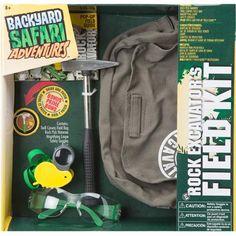 Backyard Safari Rock Excavators Field Kit