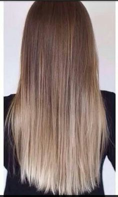 Perfect ombre ballyage