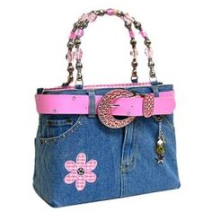 Denim Bag Pink