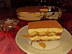 Τιραμισού με καραμέλα από την Σόφη Τσιώπου Tiramisu, Cheesecake, Ethnic Recipes, Desserts, Food, Tailgate Desserts, Deserts, Cheesecakes, Essen