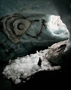 A cave in Iceland | AnOther Loves