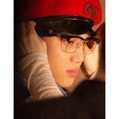 Chanyeol, Boy Models, Kim Jong In, Riding Helmets, Captain Hat, Gucci, Glasses, Instagram, Kaisoo