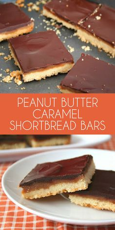 Delicious keto-friendly low carb peanut butter shortbread bars. My husband swears they taste just like Tagalong! LCHF Grain-Free THM recipe.  via @dreamaboutfood