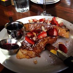 Ciabatta French Toast from Postino's.  FabulousArizona.com