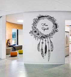 Free Spirit Dreamcatcher Wall Decal