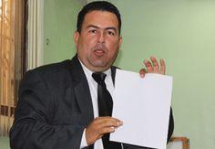 El regidor Daneris Santana, del partido Frente Amplio, denunció