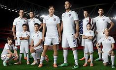 0a88aefffac0 NIKE US SOCCER TEAM HOME JERSEY FIFA WORLD CUP 2014 BRAZIL. TEAM LOYALTY.  TOTAL