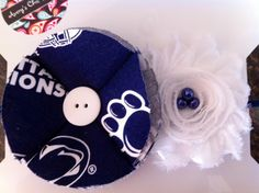 Penn State Headband   Baby girl headband newborn headband toddler by AverysChicBoutique, $12.00