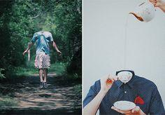 """Imagine que você esteja andando na rua quando, de repente, a pessoa da frente para, pega o celular do bolso, faz uma pose e tira uma selfie. Fotografar a si próprio já está perpetuado entre nós, independentemente da idade. Contrário a isso, o italiano Giuseppe Pepe, de 30 anos, chefe de design na boate Space Ibiza, na Espanha, criou o projeto Loosing My Mind no Instagram, onde produz uma série de imagens removendo a cabeça das pessoas para criar o conceito anti-selfie.""""Removo as cabeças…"""