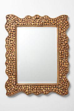 Tree trunk mirror - pretty cool