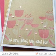Falling Into Cardmaking: Neat&Tangled March Release Day 2