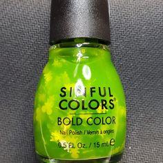 Bold Colors, Nail Colors, Sinful Colors, Swatch, Shampoo, Nail Polish, Apple, Beauty, Ongles