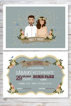 Wedding Card Design, Wedding Designs, Wedding Cards, Wedding Gifts, Photo Wedding Invitations, Invites, Wedding Dresses Men Indian, Buch Design, Wedding Humor