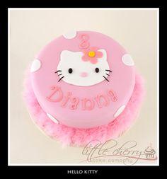 Hello Kitty Cake by LittleCherry