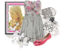 """i'm a girly girl"" by candy420kisses on Polyvore This is cute I would wear this :)"