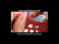 Crochê - Guia de Pontos - Aula 15 - Ponto Cruzado Duplo - YouTube