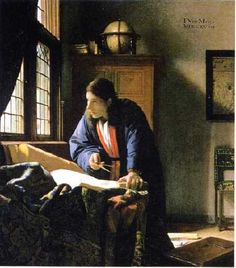 Johannes Vermeer Artist  Johannes Vermeer (1632–1675) Link back to Creator infobox template wikidata:Q41264 Johannes Vermeer                           · · · · · ·      Title Dutch: De Geograaf The Geographer
