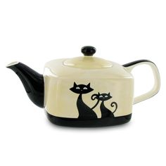 Totally cool Cat Teapot.