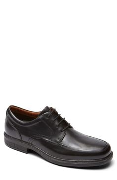842f0afaa567 Shop the DresSports Luxe Apron Toe Oxford in Brown at the Official  Rockport® Online Store