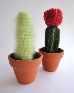 crocheted cactus!
