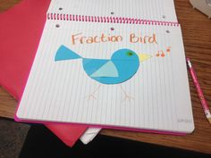 Fraction bird idea from the Ed Emberley's Picture Pie 2 book.  Follow the patterns to help learn fractions and geometry. Has all kinds of designs and shapes for the school year or any occasion and can use to create holiday decorations!