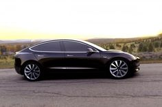 2017 Tesla Model 3: new spy shots show Tesla's 3 Series rival on test