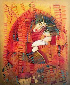 Oil painting by Albena Vatcheva