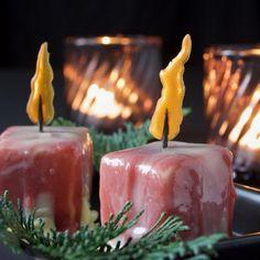 Risalamandekage Pillar Candles, Scandinavian, Muffins, Food And Drink, Sweets, Smuk, Christmas, Recipes, Baking Soda