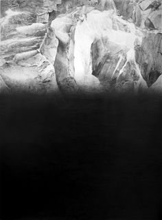 Marissa Textor, The Place of the Rising of the Sun, 2011, graphite on paper, 30 x 22.5 in
