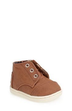 TOMS+'Paseo+-+Tiny'+Mid+Bootie+(Baby,+Walker+&+Toddler)+available+at+#Nordstrom
