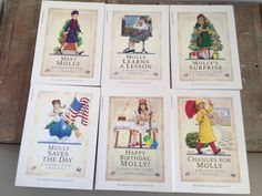 American Girl Molly Book Set 1944 1  6 Complete by ThePinkRoom