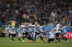 La Argentina está en la final del Mundial. Glorioso momento!