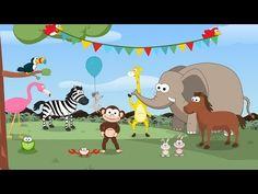 Canción de los animales - Toobys - Canciones infantiles Ideas Para, Childrens Books, Safari, Spanish, Africa, Family Guy, Classroom, Panama, Youtube