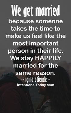 Want to stay happily married?