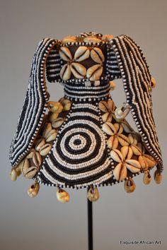 Kuba Hat Kalyeem Headdress (SOLD) - Exquisite African Art