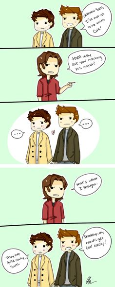 ..SAM..REALLY PISSED UP WITH CASTIEL AND DEAN