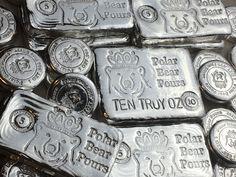 Troy, Silver Ingot, Old Boats, Crude Oil, Gold Price, Silver Bars, Silver Coins, Polar Bear, Precious Metals