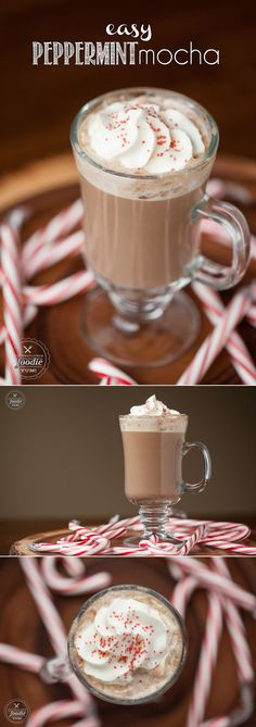 25 of the Most Expensive Food Dishes Dont waste your money on expensive holiday drinks at the coffee place when you can make your own delicious Easy Peppermint Mocha in your own kitchen! Holiday Drinks, Holiday Recipes, Winter Drinks, Christmas Recipes, Fall Recipes, Expensive Coffee, Mocha Coffee, Mint Coffee, Espresso