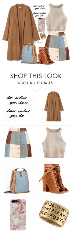 """""""DUSTER COAT #1"""" by kkaey ❤ liked on Polyvore featuring Umbra, Boohoo, Gianvito Rossi and Rachel Rachel Roy"""