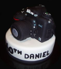 3D Nikon Camera Cake - by Nada's Cakes Canberra